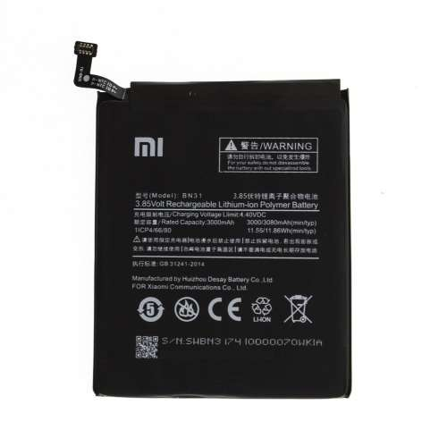 Батареї Xiaomi mi A1