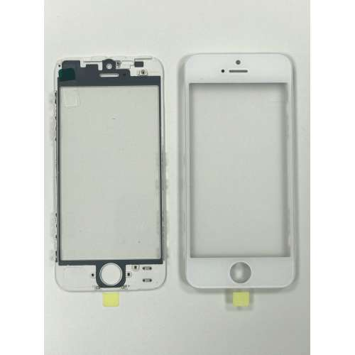 Переслойка Glass with Frame + OCA i5 white