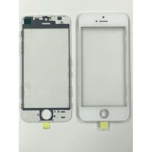 Переслойка Glass with Frame + OCA i5s white