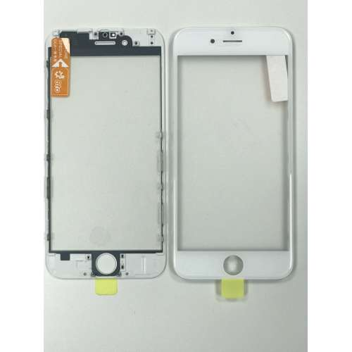 Переслойка Glass with Frame OCA i6++ white