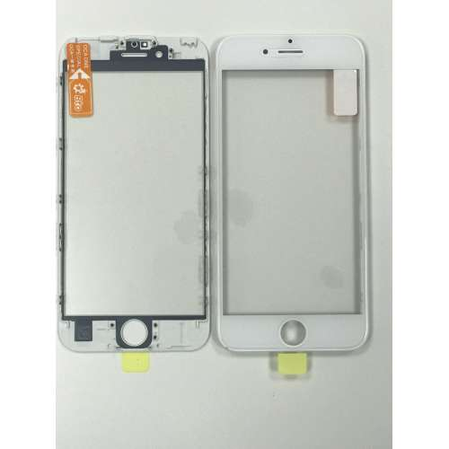 Переслойка Glass with Frame OCA i6++s white
