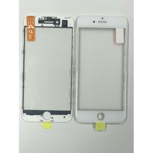 Переслойка Glass with Frame + OCA i7 white