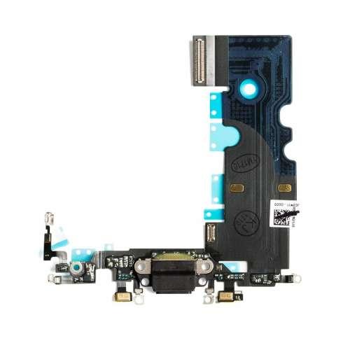 Шлейфы IP-8 Нижний Док, порт зарядки Black