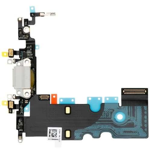Шлейфы IP-8 Нижний Док, порт зарядки White