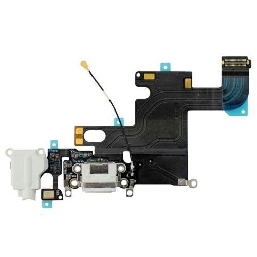 Шлейфы IP-6 нижний шлейф. Шлейф зарядки White