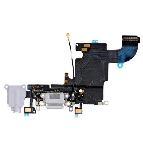 Шлейфи IP-6S Шлейф зарядки/Нижній шлейф White