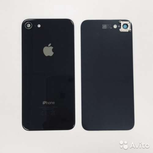 Корпуси i8 with camera glass Black