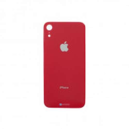 ЗАДНЄ СКЛО ЗІ СКЛОМ КАМЕРИ IPHONE XR Red
